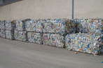 Baled Plastic Bottles
